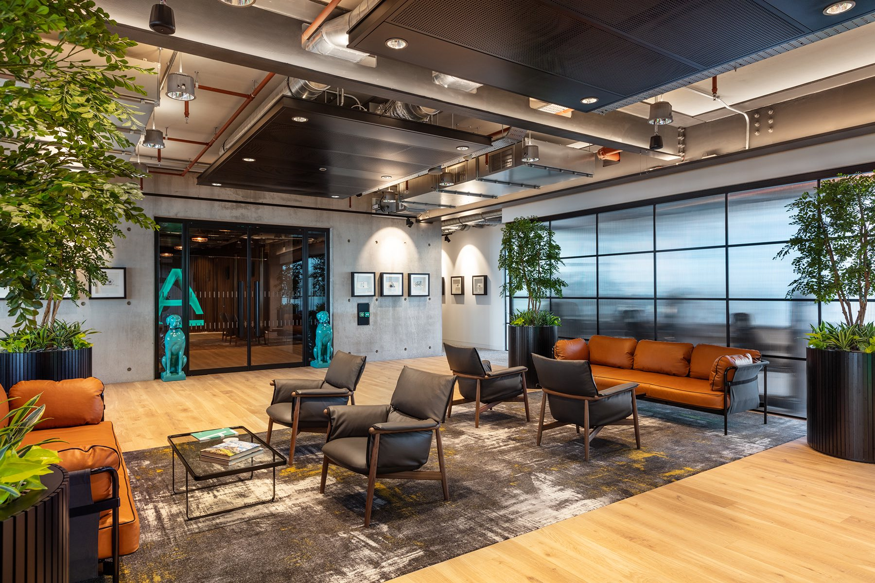 A Tour Of Alpha FX's Cool New London Office