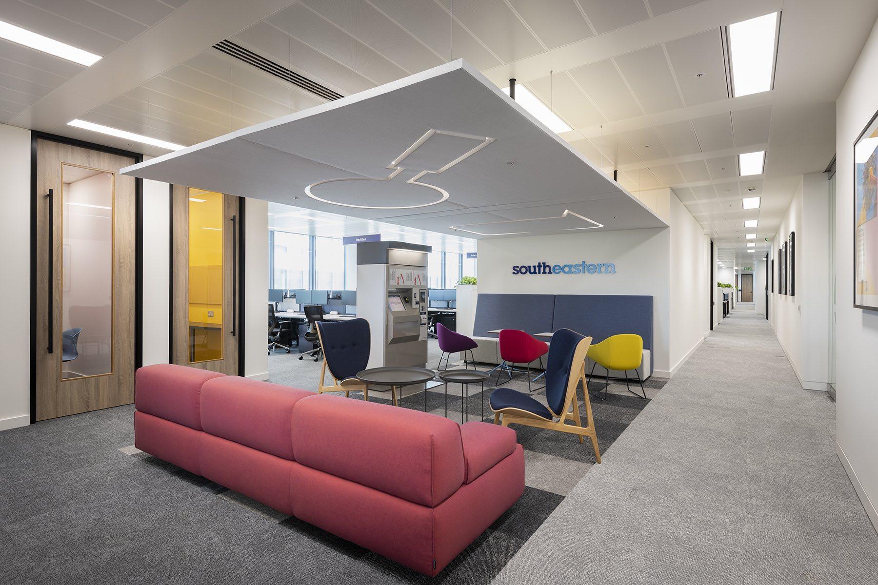 A Look Inside Southeastern's New London Office