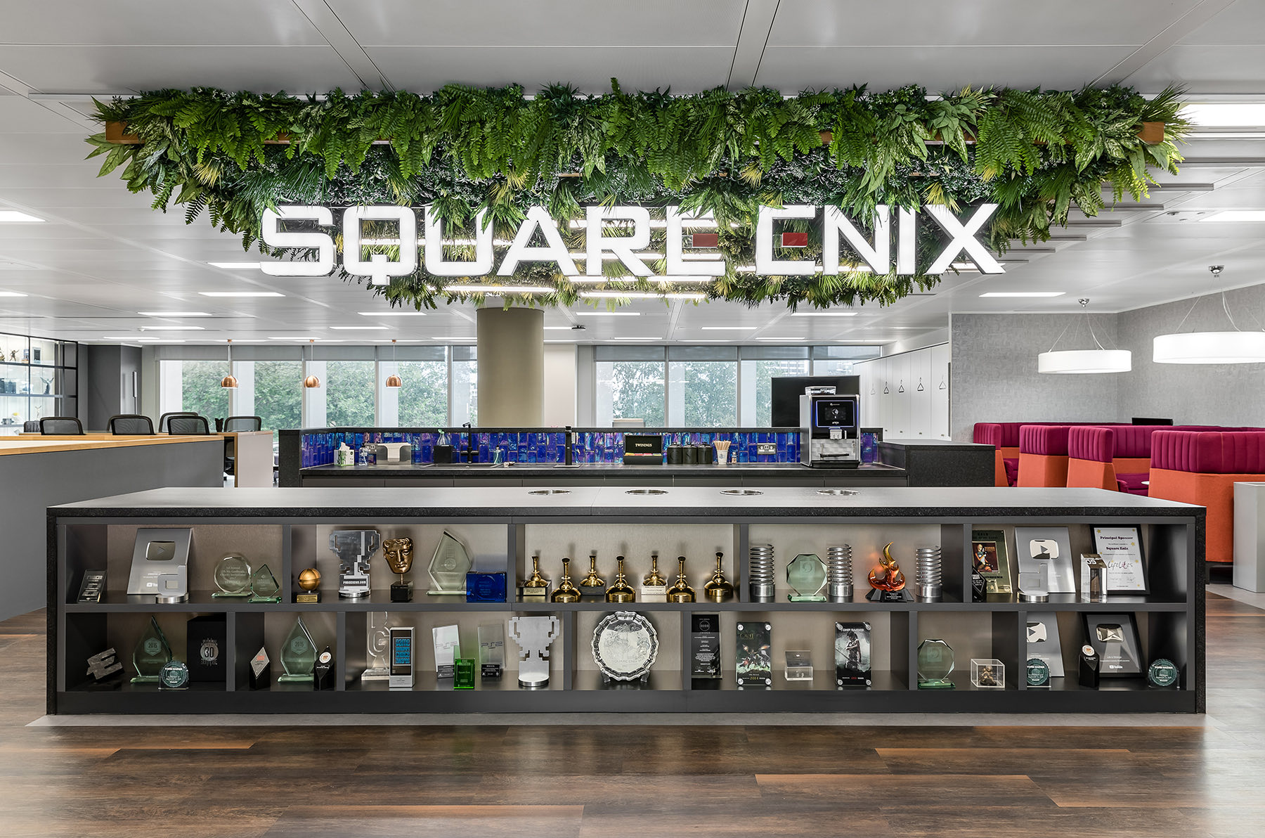 A Look Inside Square Enix's Modern London Office