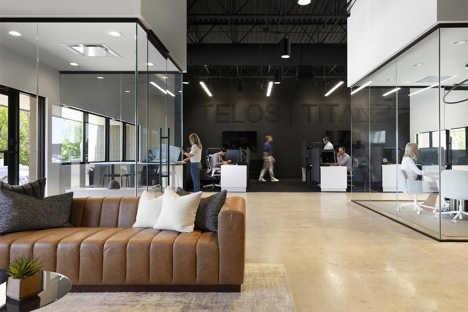 Inside TELOS' Modern New Eden Prairie Office