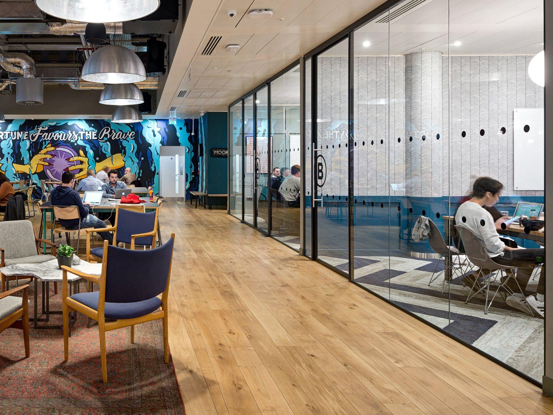 A Look Inside WeWork's Moorgate Coworking Space