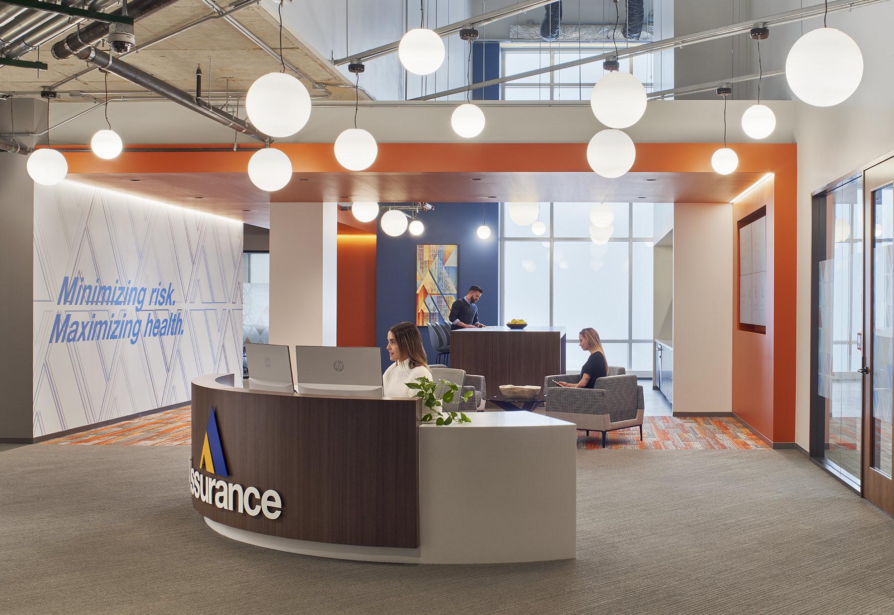 A Look Inside Assurance's New Schaumburg Headquarters