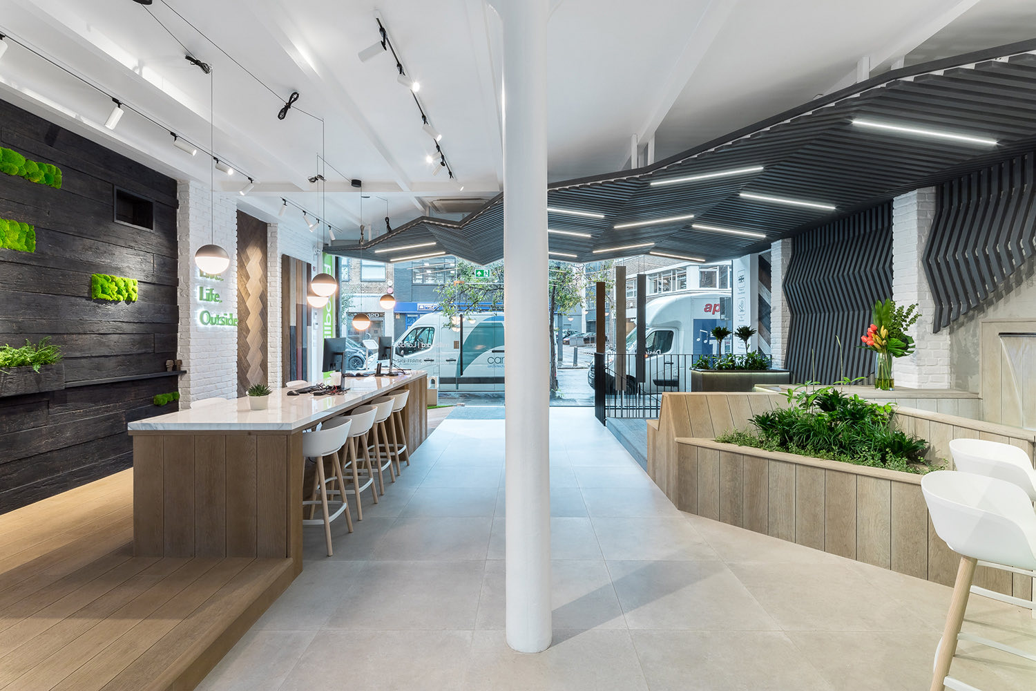 A Tour of Millboard's Biophilic London Office