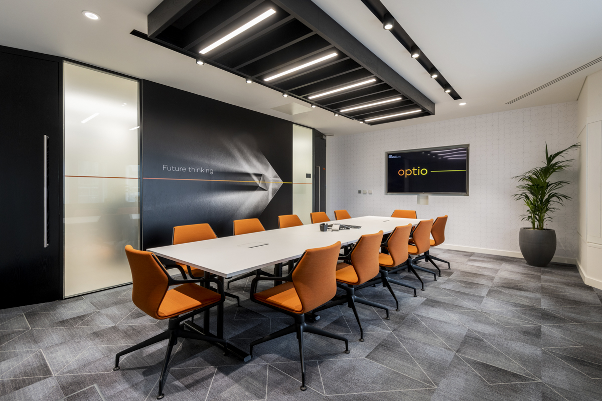 A Look Inside Optio's Modern London Office