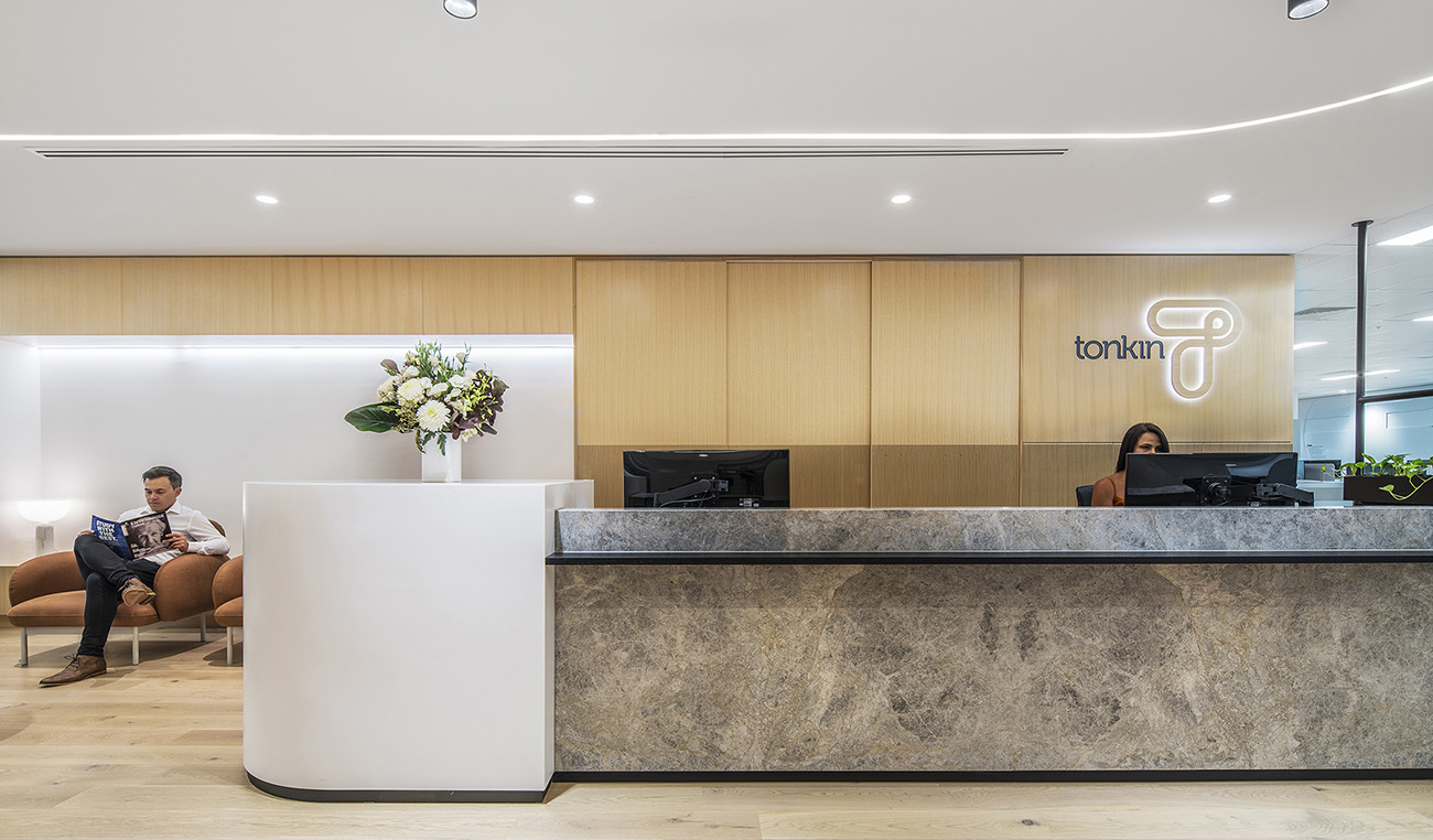 A Look Inside Tonkin Consulting's Elegant Office in Adelaide