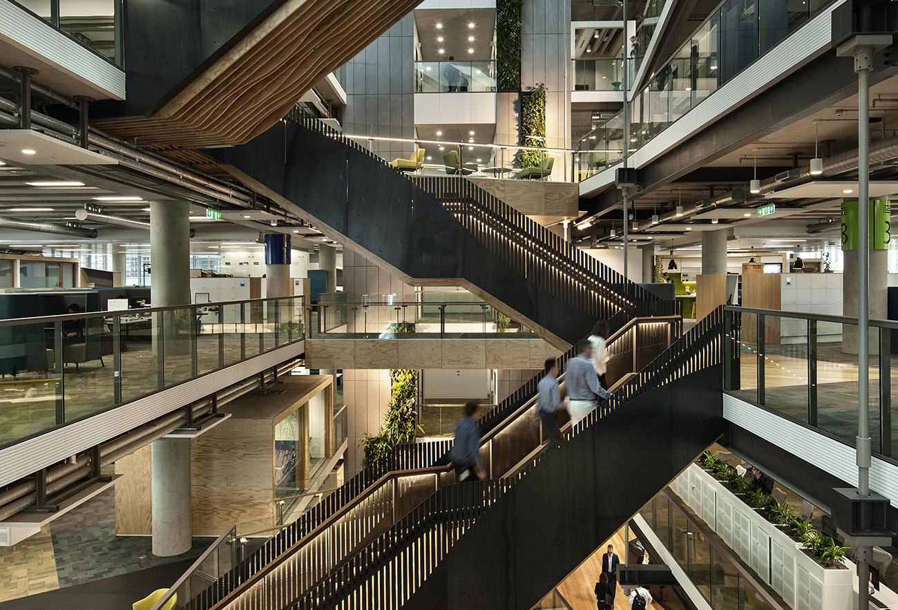 A Look Inside Fonterra's Modern Auckland Headquarters