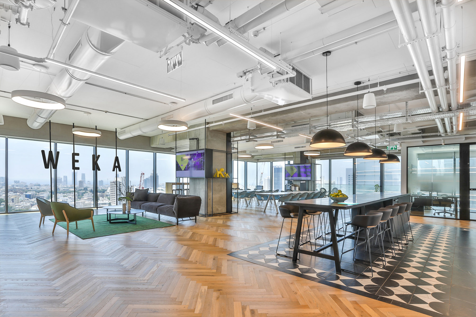 Step Inside WekaIO's New Tel Aviv Office