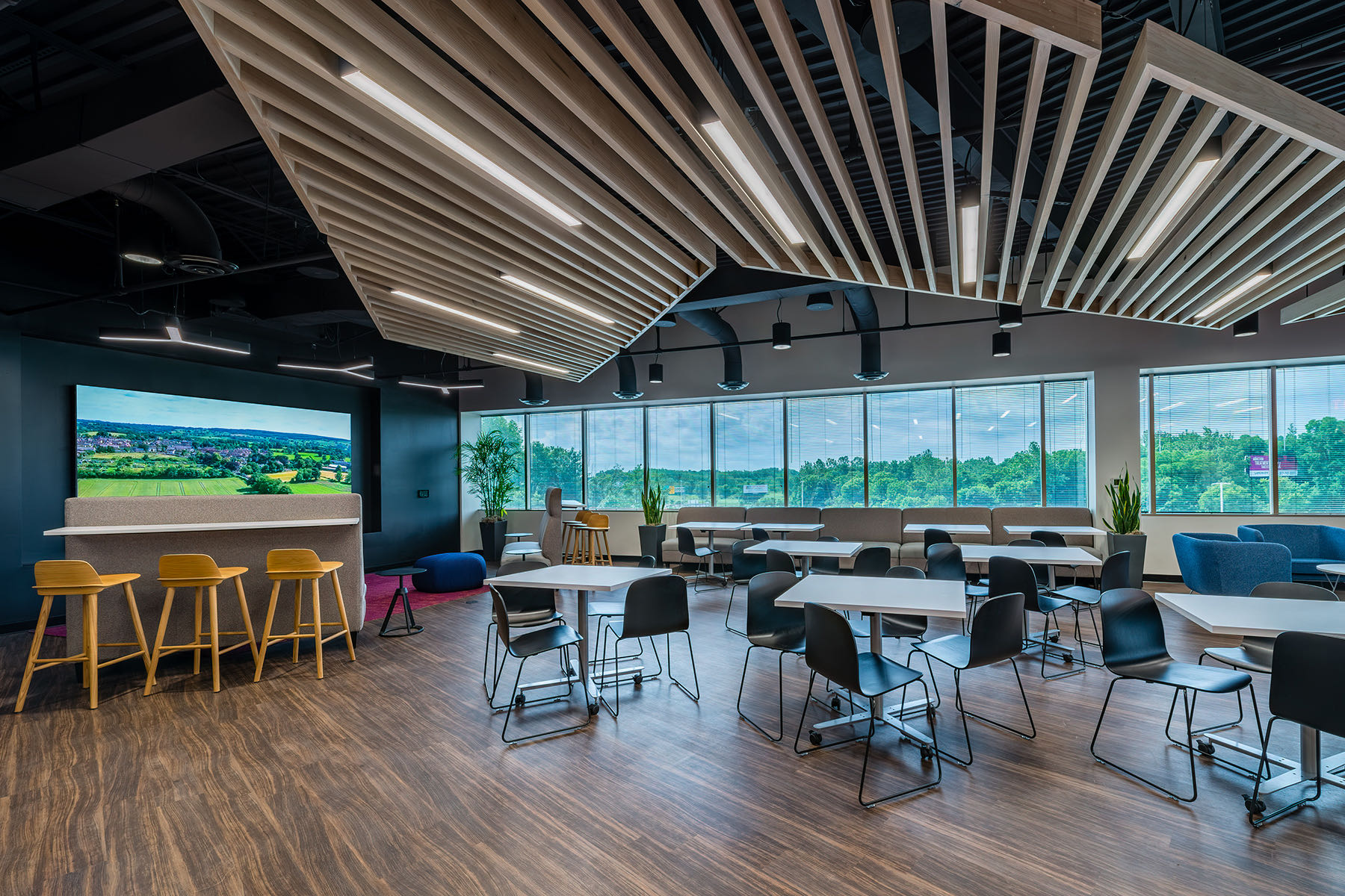 A Look Inside American Structurepoint's New Indianapolis Design Center