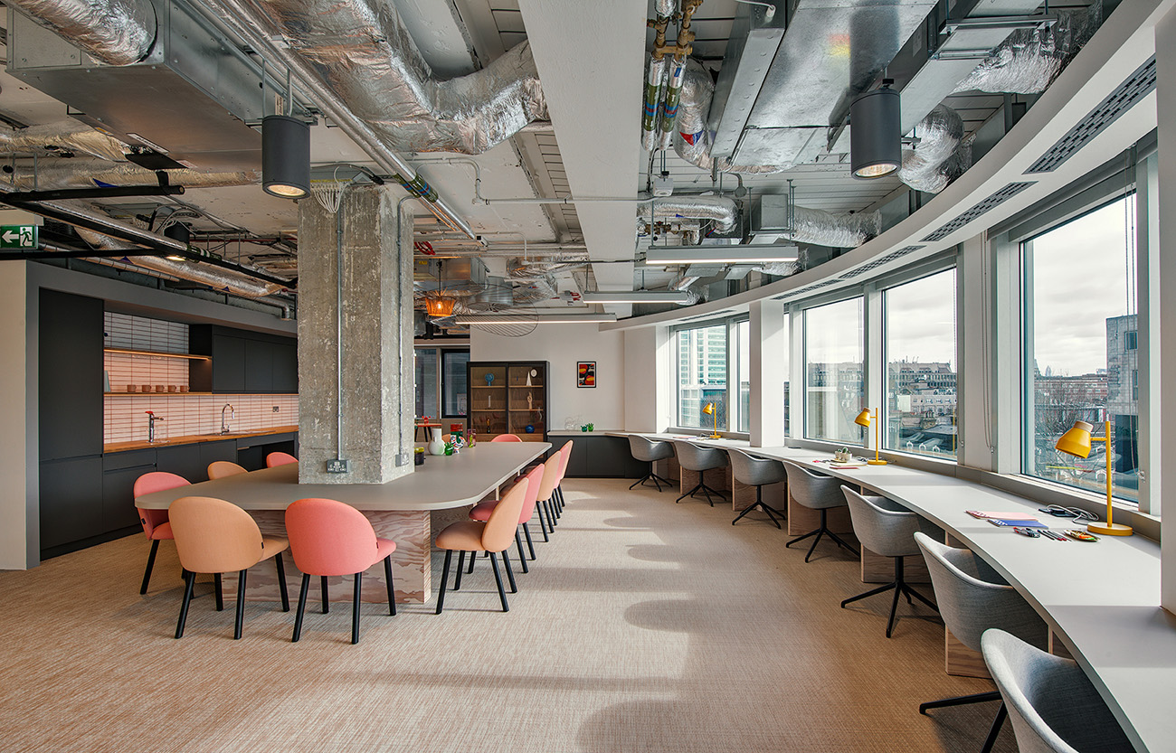 A Look Inside British Land's Modern New London Office