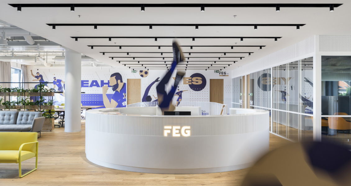 A Tour of FEG's Sleek New Prague Office