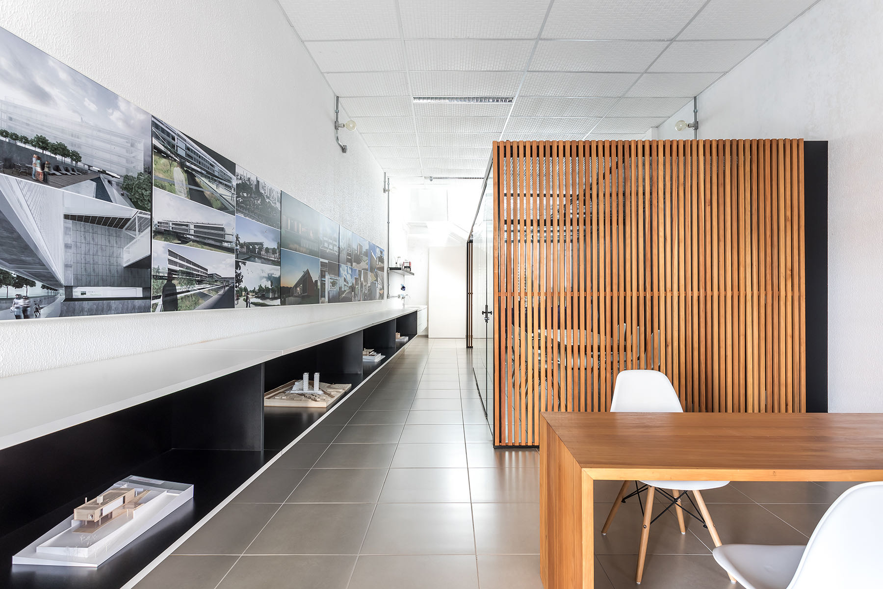 Inside Michel Macedo Arquitetos' Minimalist Pato Branco Office