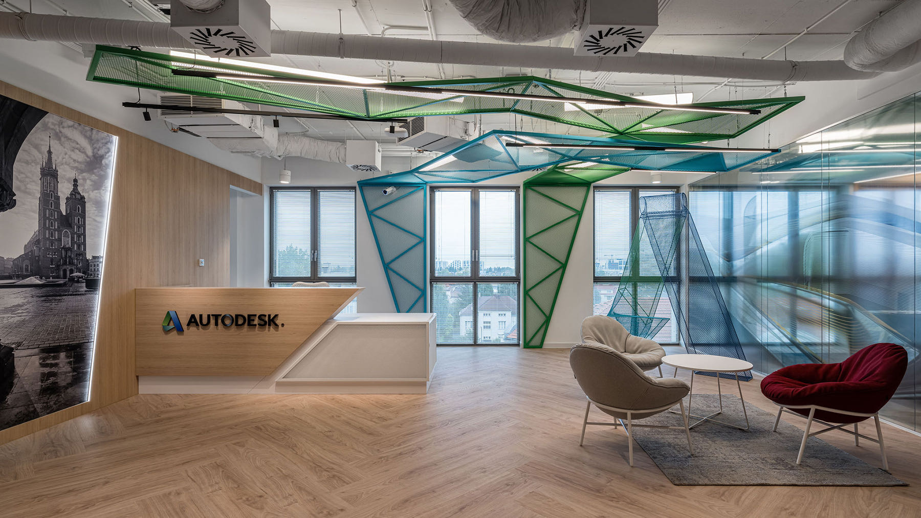A Look Inside Autodesk's Sleek New Krakow Office
