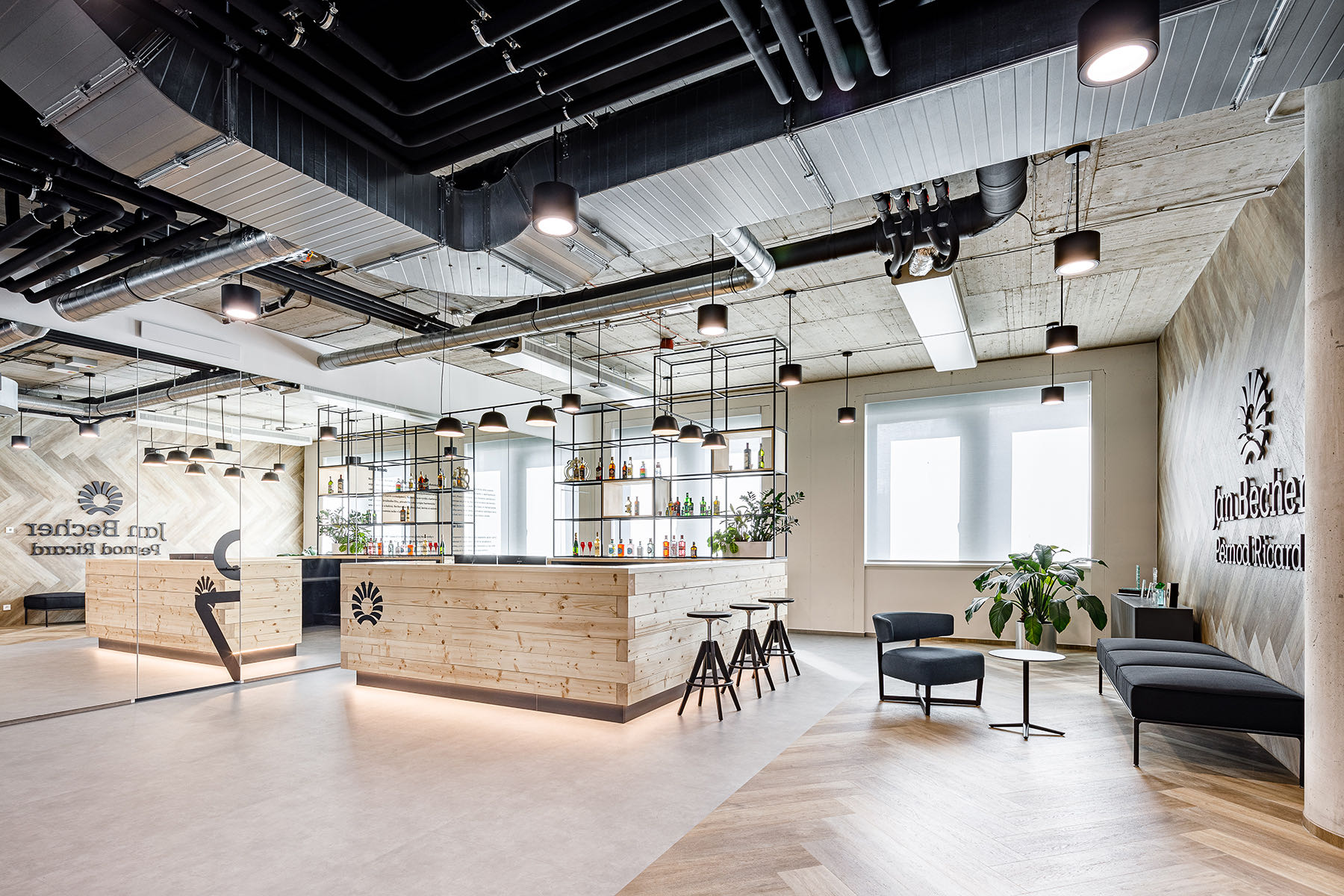 A Look Inside Becherovka's Cool New Prague Office
