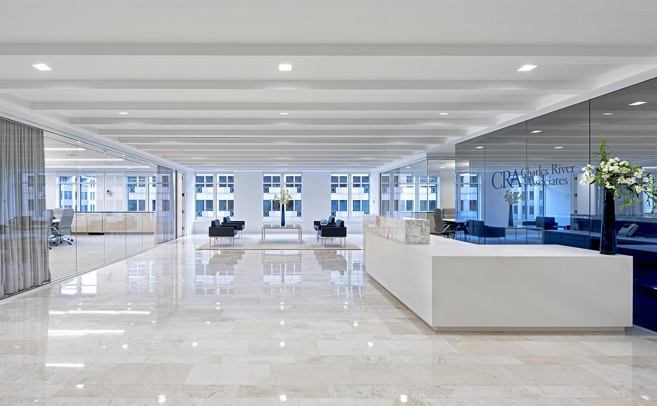 Inside  Charles River Associates' New Washington D.C. Office