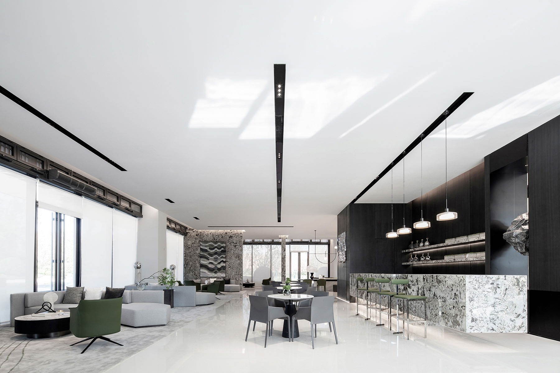 A Tour Of Sunac's Minimalist New Taiyuan Office