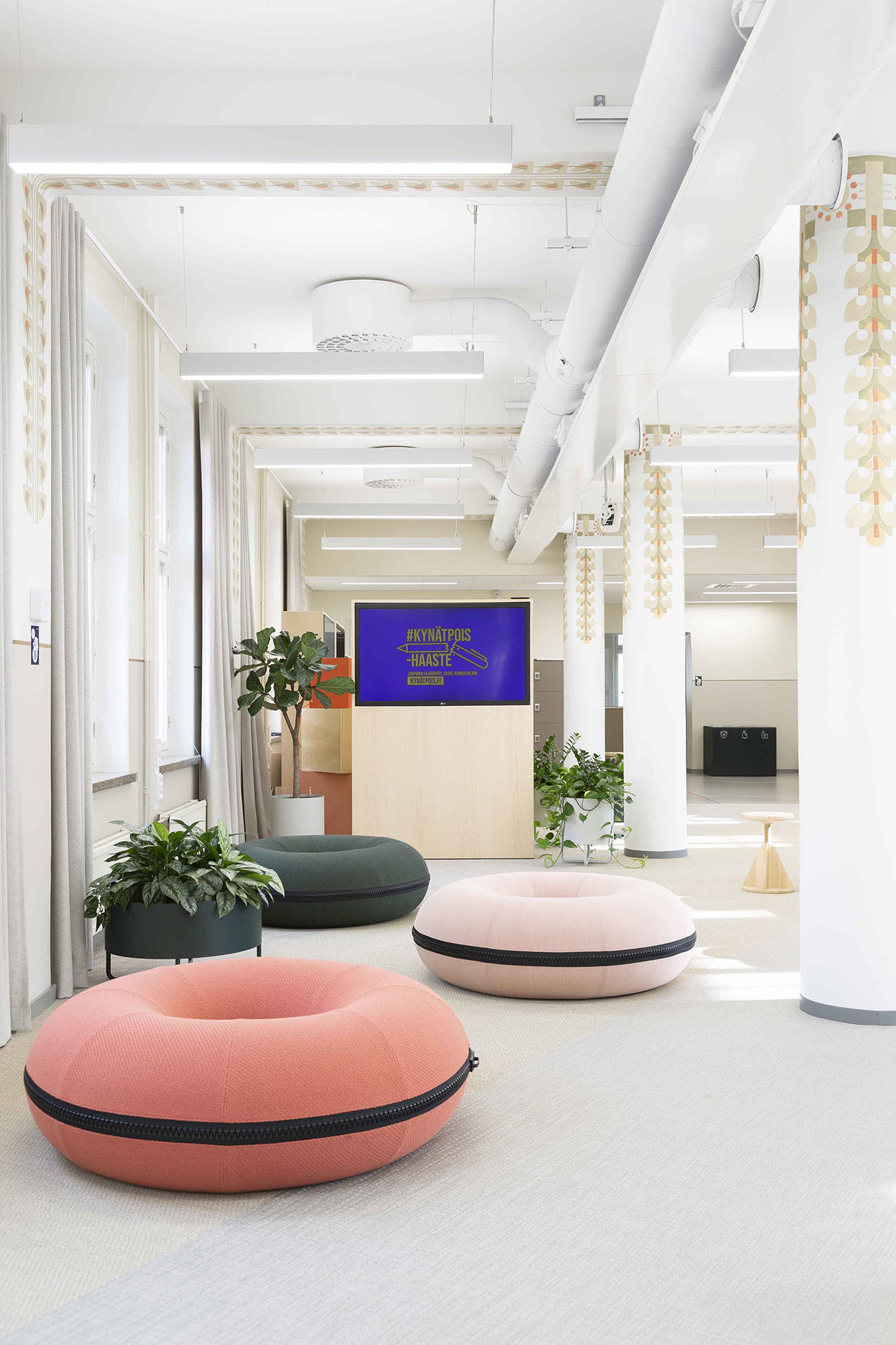 A Look Inside Urban3's Cool New Coworking Space In Helsinki