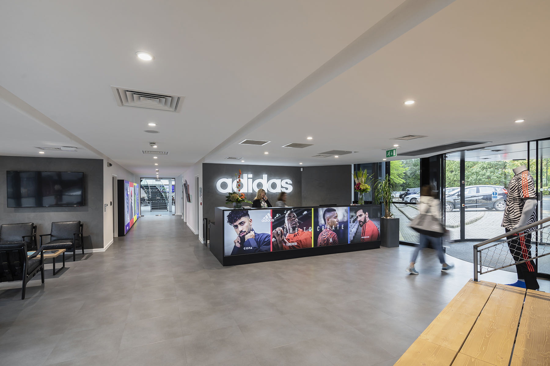 A Tour Of Adidas' New Manchester Headquarters
