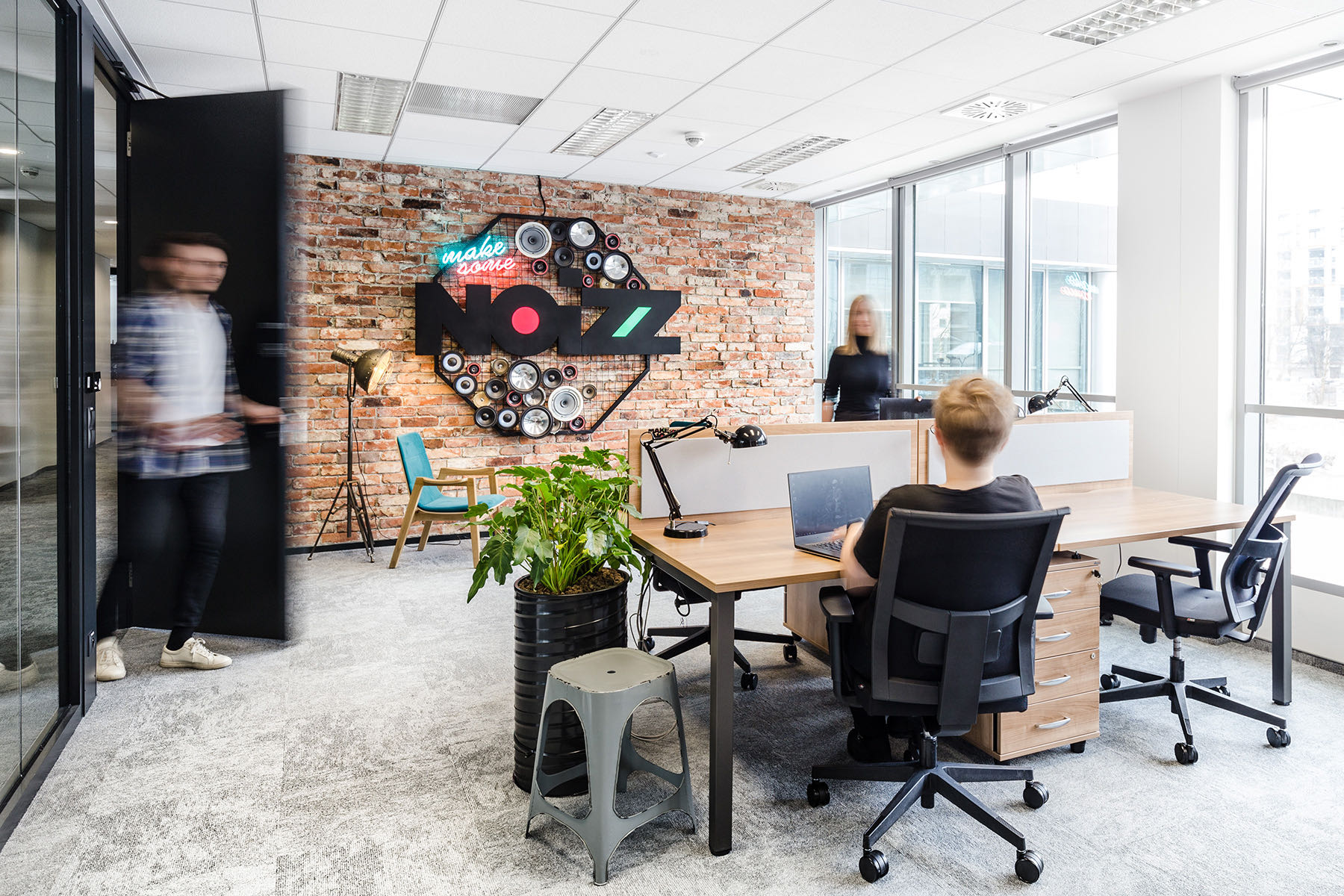 A Tour Of Ringier Axel Springer's Neon Innovation Hub In Warsaw