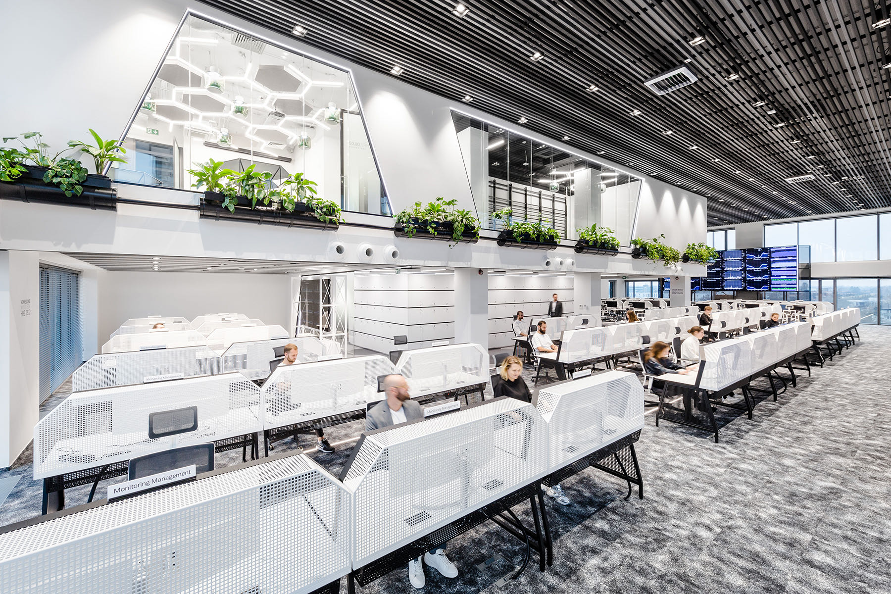 A Look Inside Nordea's Contemporary Warsaw Office