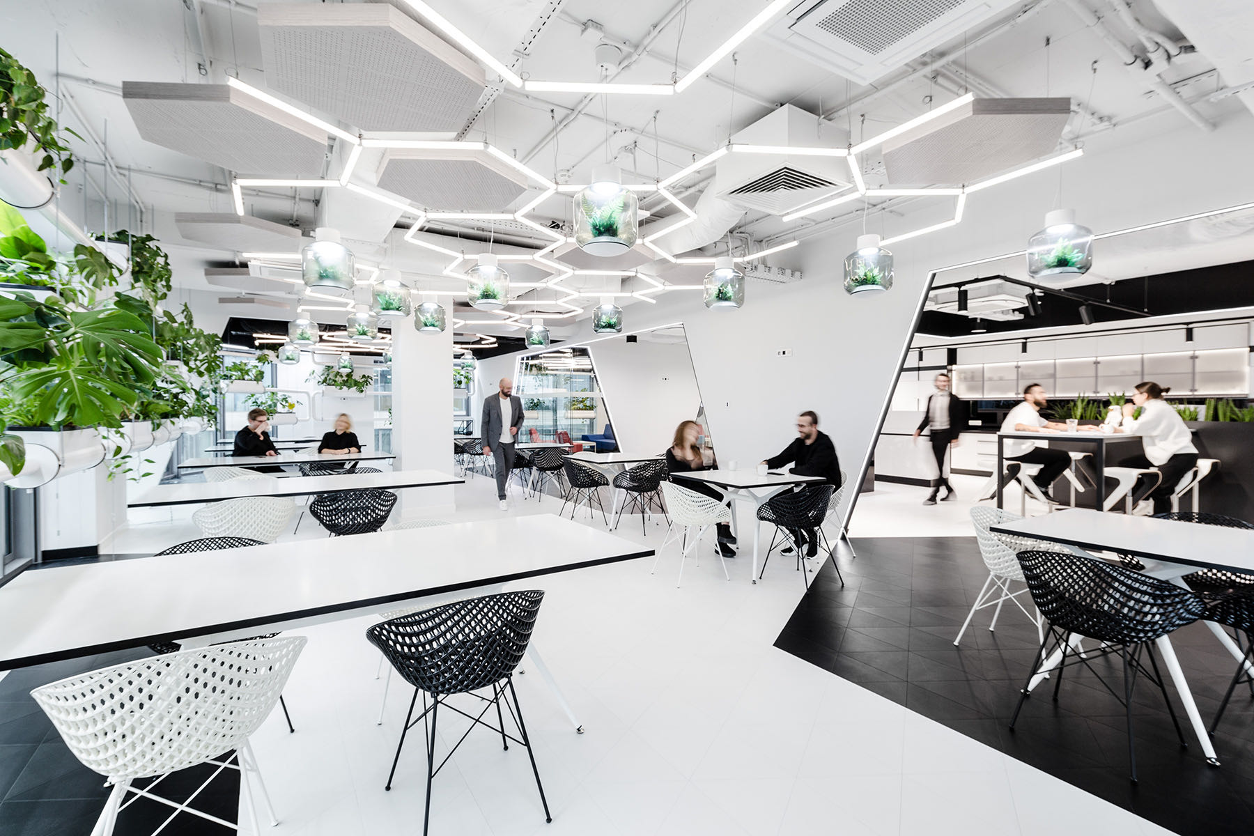 A Look Inside Nordea's Contemporary Warsaw Office
