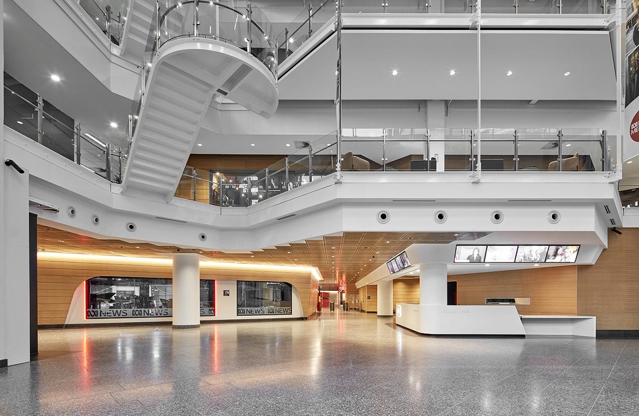 A Tour of ABC Melbourne's New Headquarters