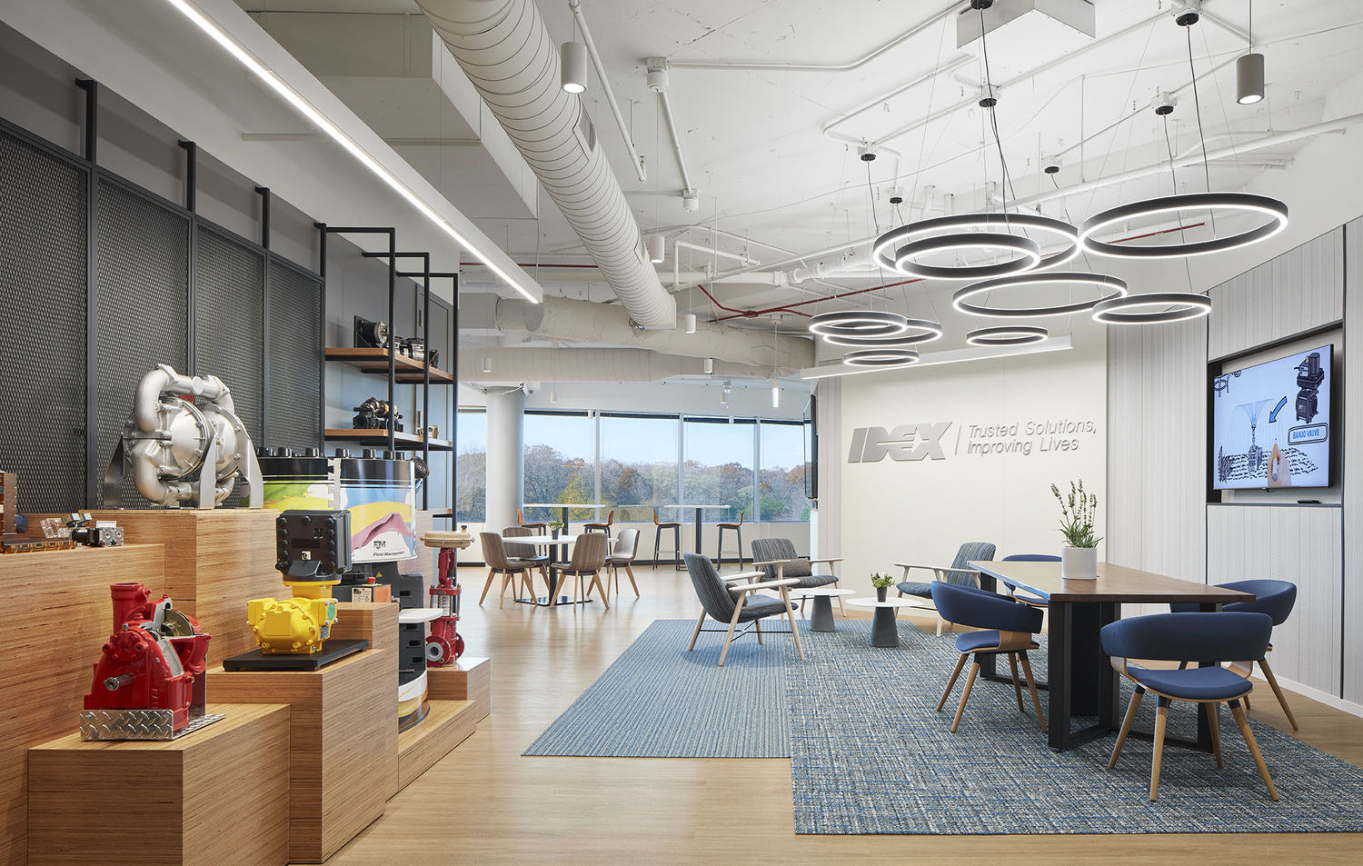 A Look Inside IDEX Corp's New Northbrook Office