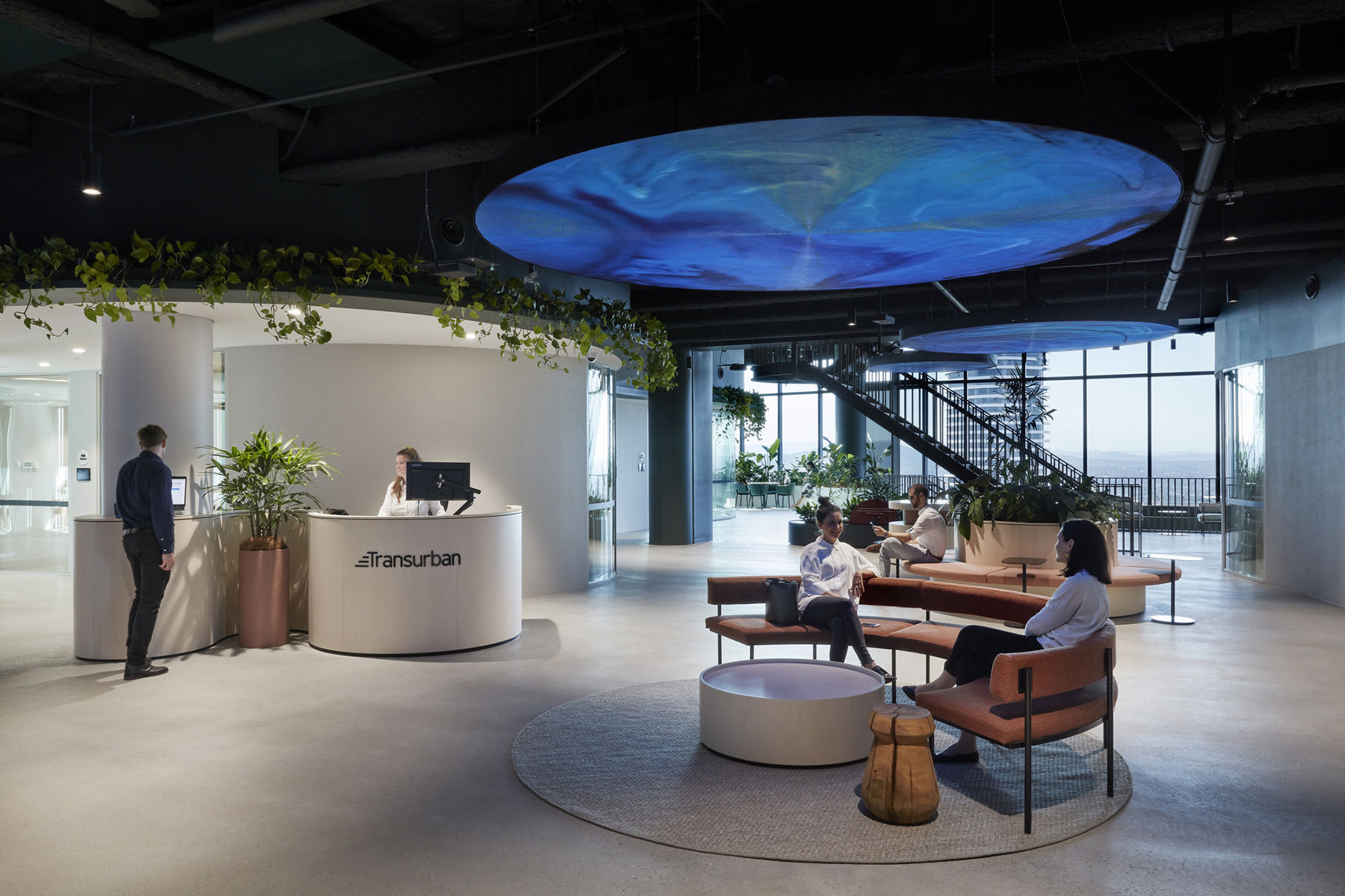 A Look Inside Transurban's Biophilic Brisbane Office