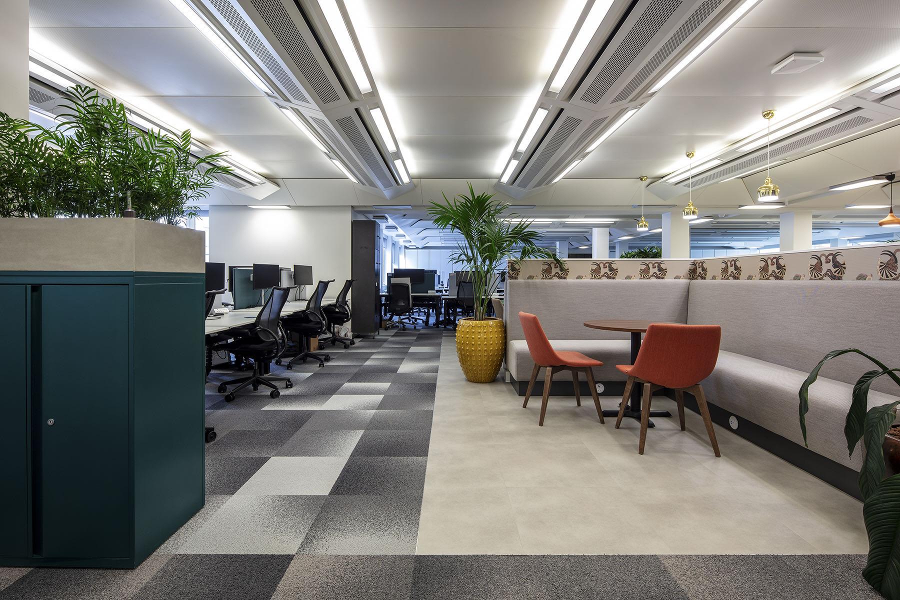 A Look Inside Knight Frank's New London Office