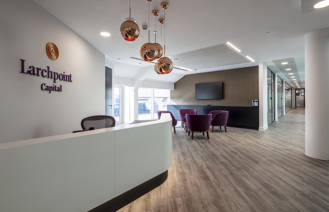 A Tour of Larchpoint Capital's New London Office
