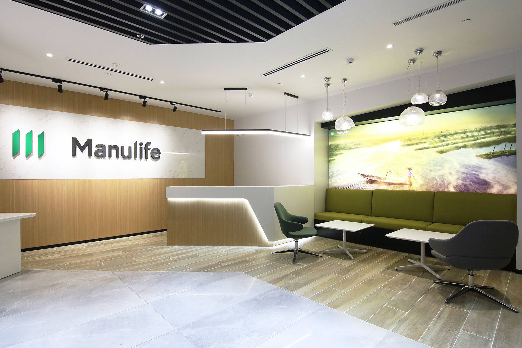 A Look Inside Manulife's New Yangon Office