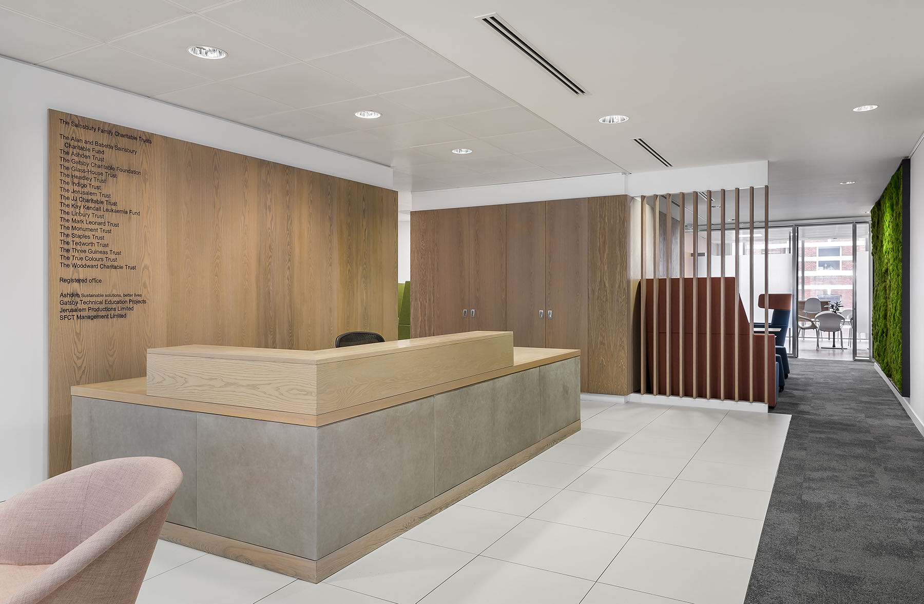 A Look Inside Sainsbury Family Charitable Trusts' London Office