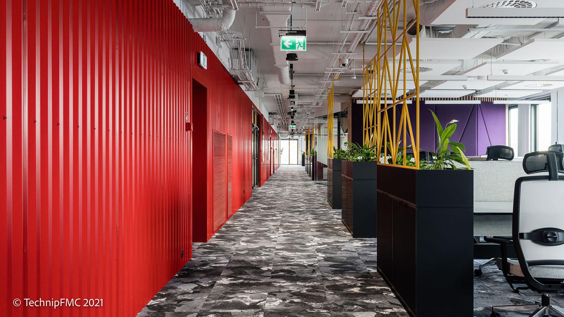 A Tour Of TechnipFMC's Modern New Krakow Office