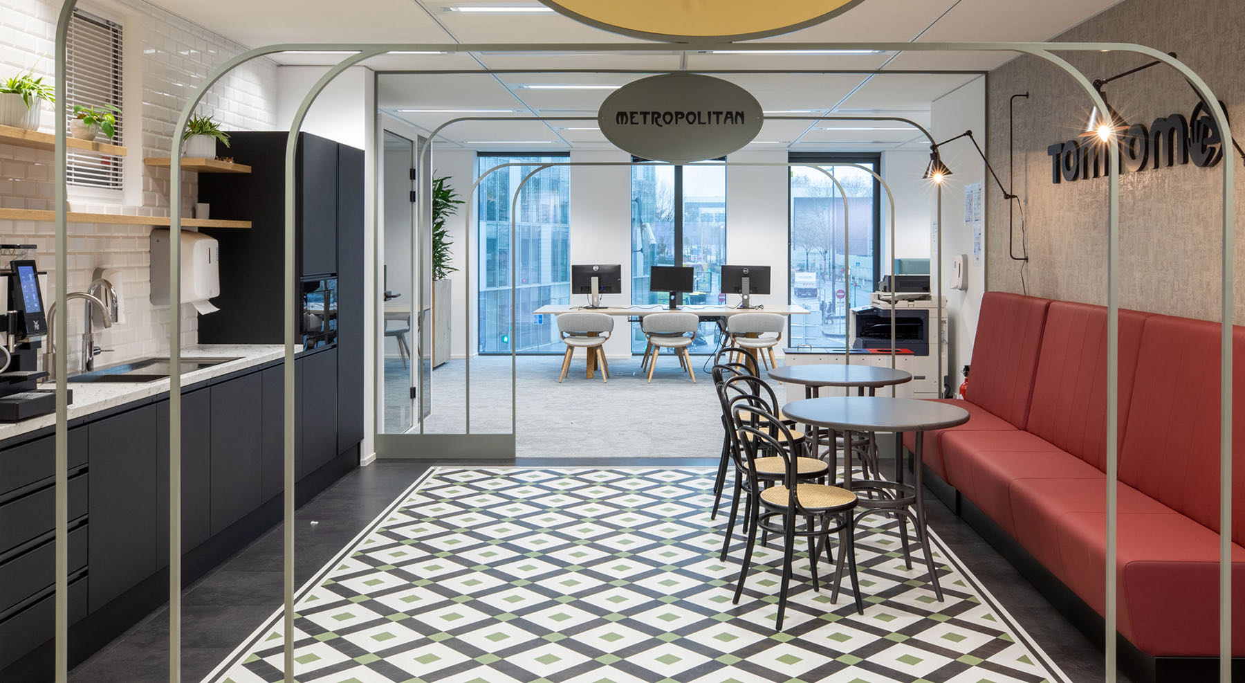 A Look Inside TomTom's New Paris Office