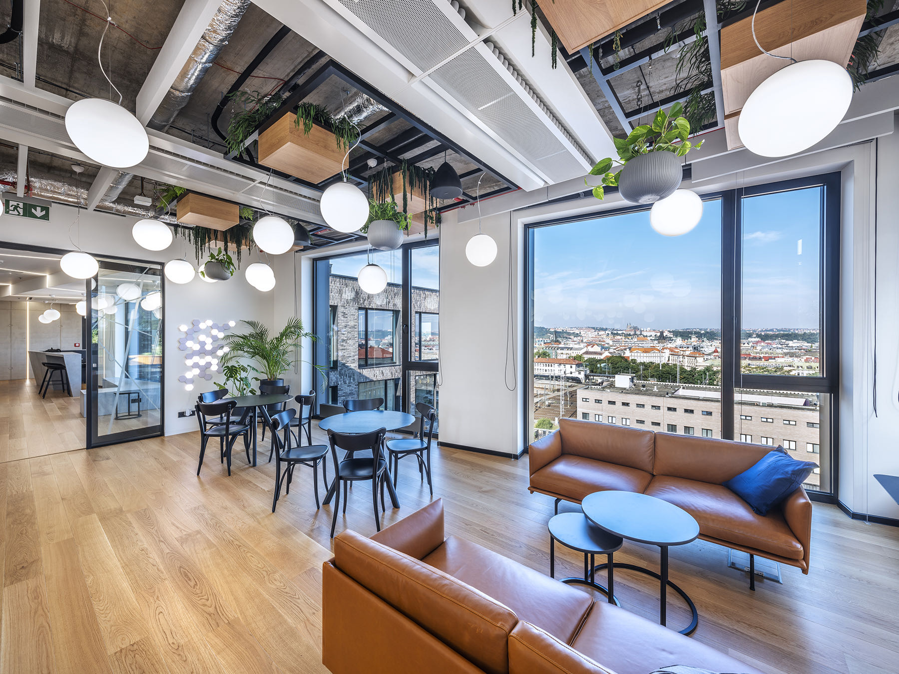 A Look Inside Private Technology Company Offices in Prague