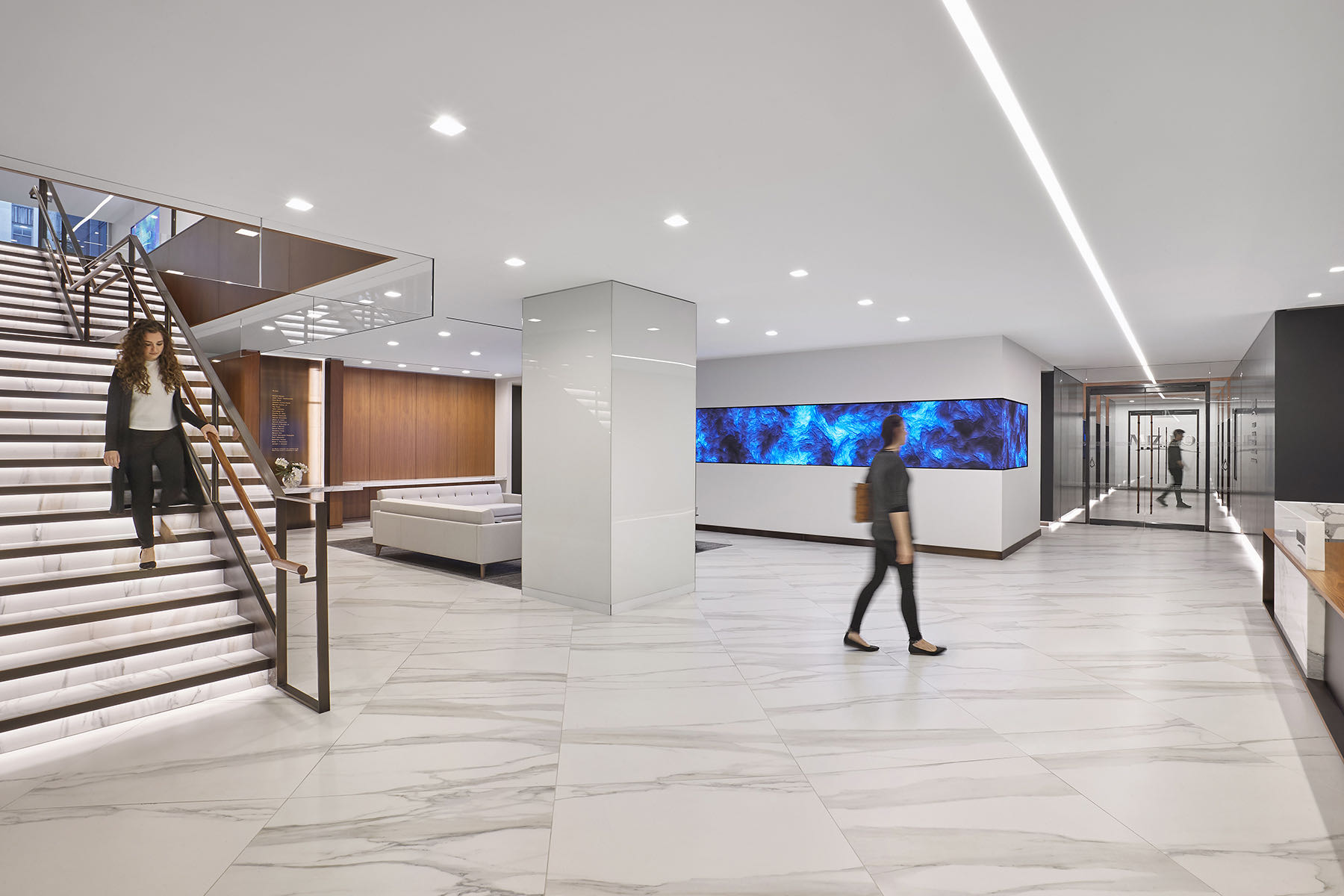 A Look Inside Mizuho Bank's New NYC Office