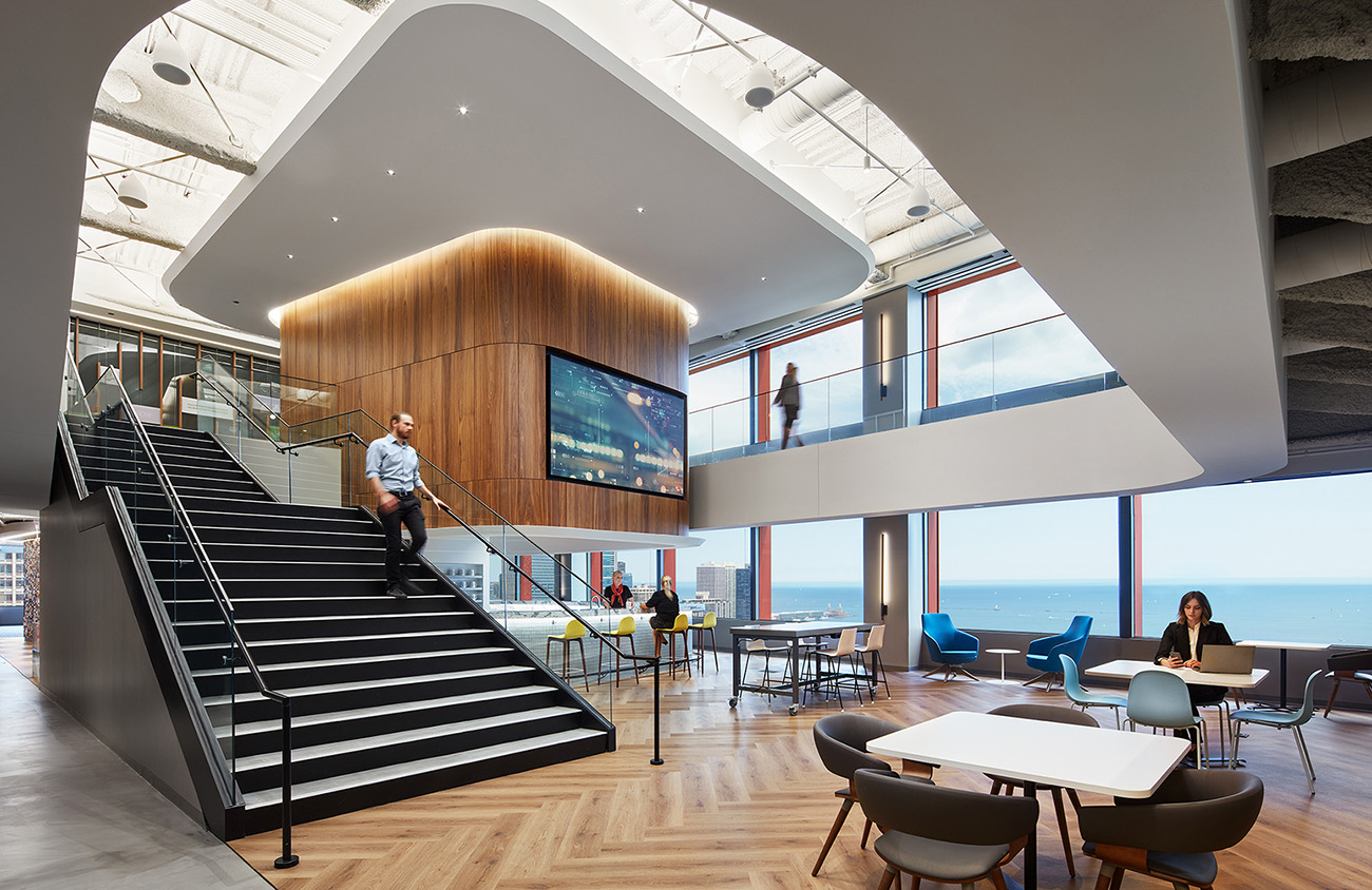 A Look Inside Northern Trust's New Chicago Office
