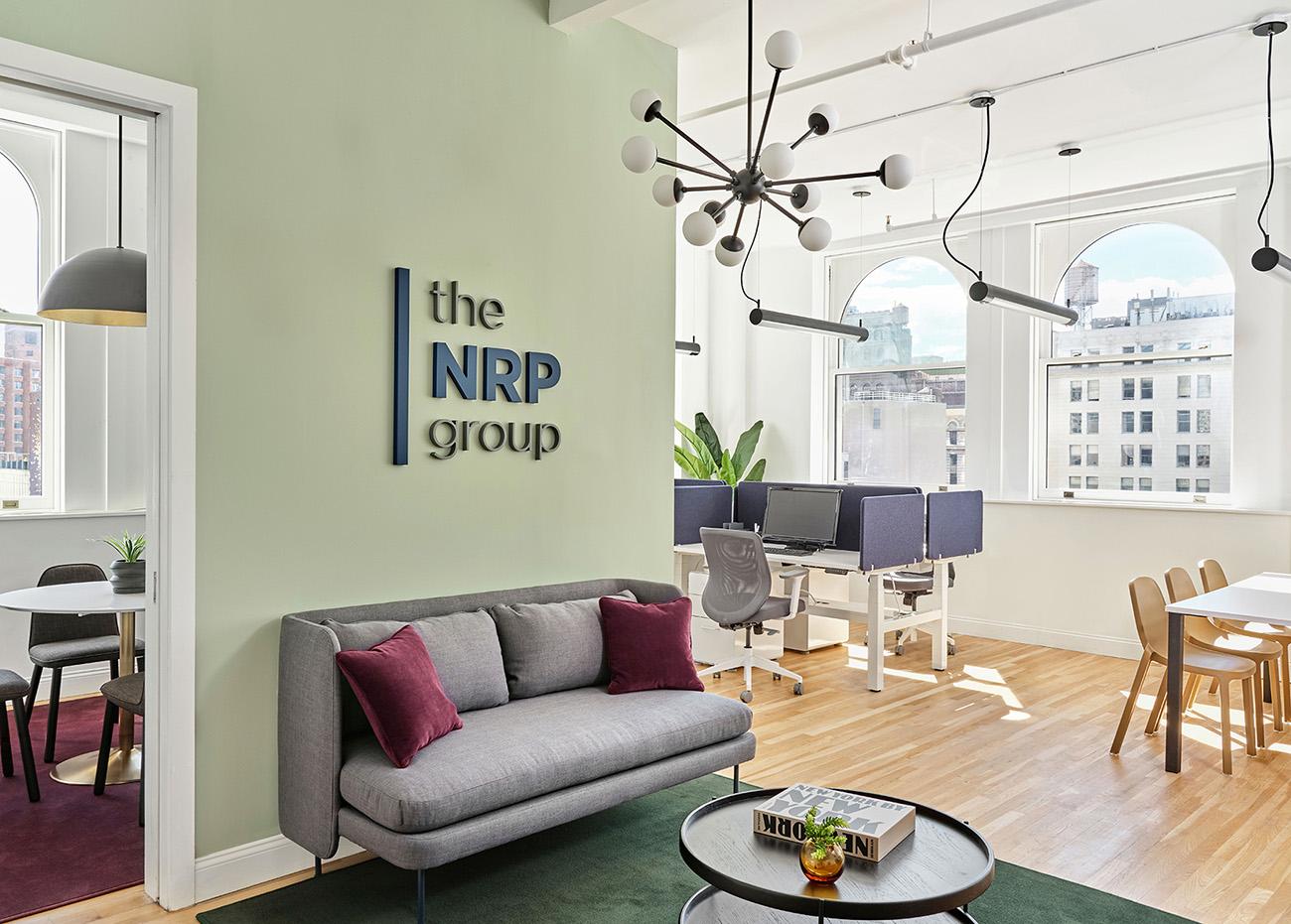 A Peek Inside NRP Group's Minimalist NYC Office