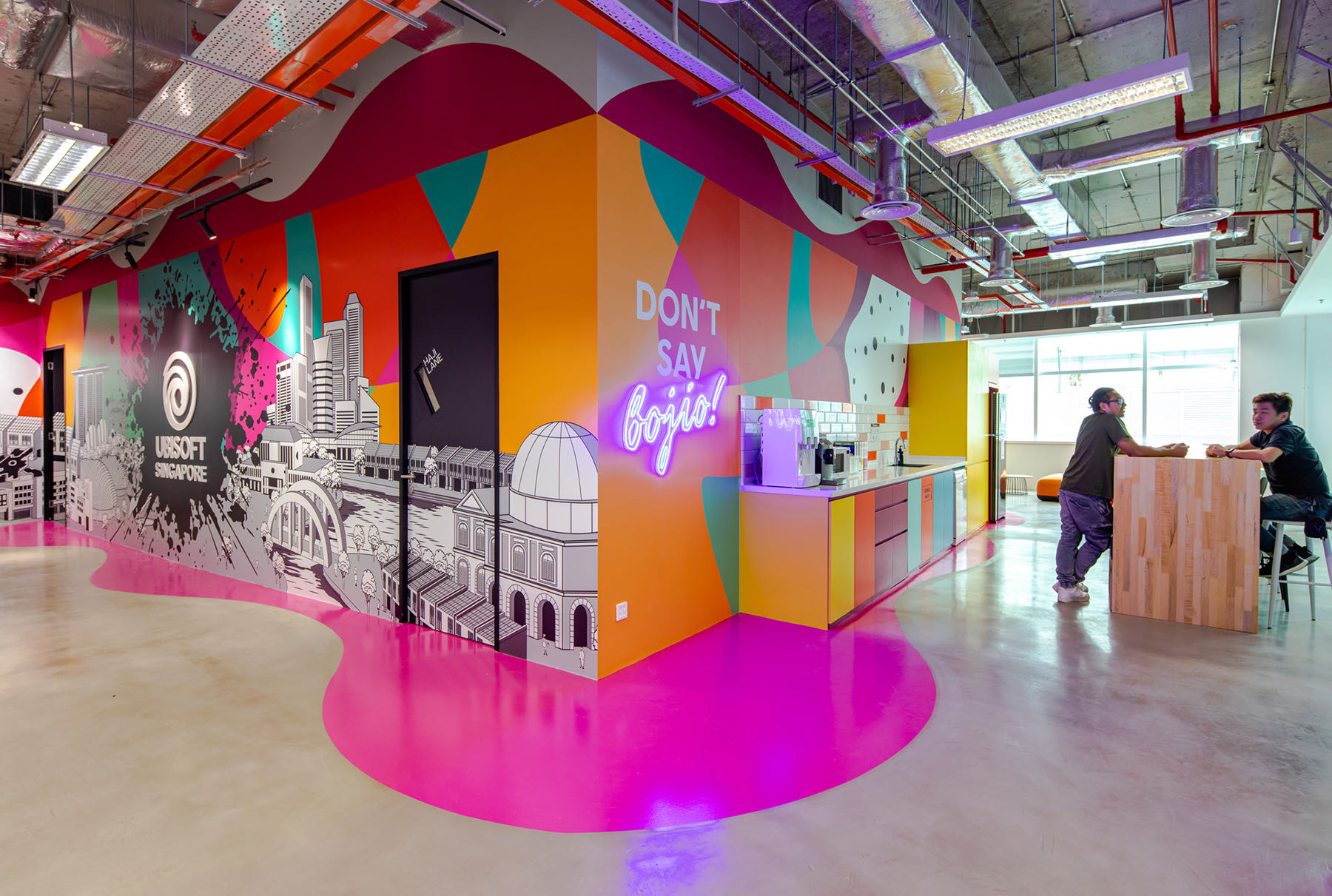 A Look Inside Ubisoft's New Singapore Office