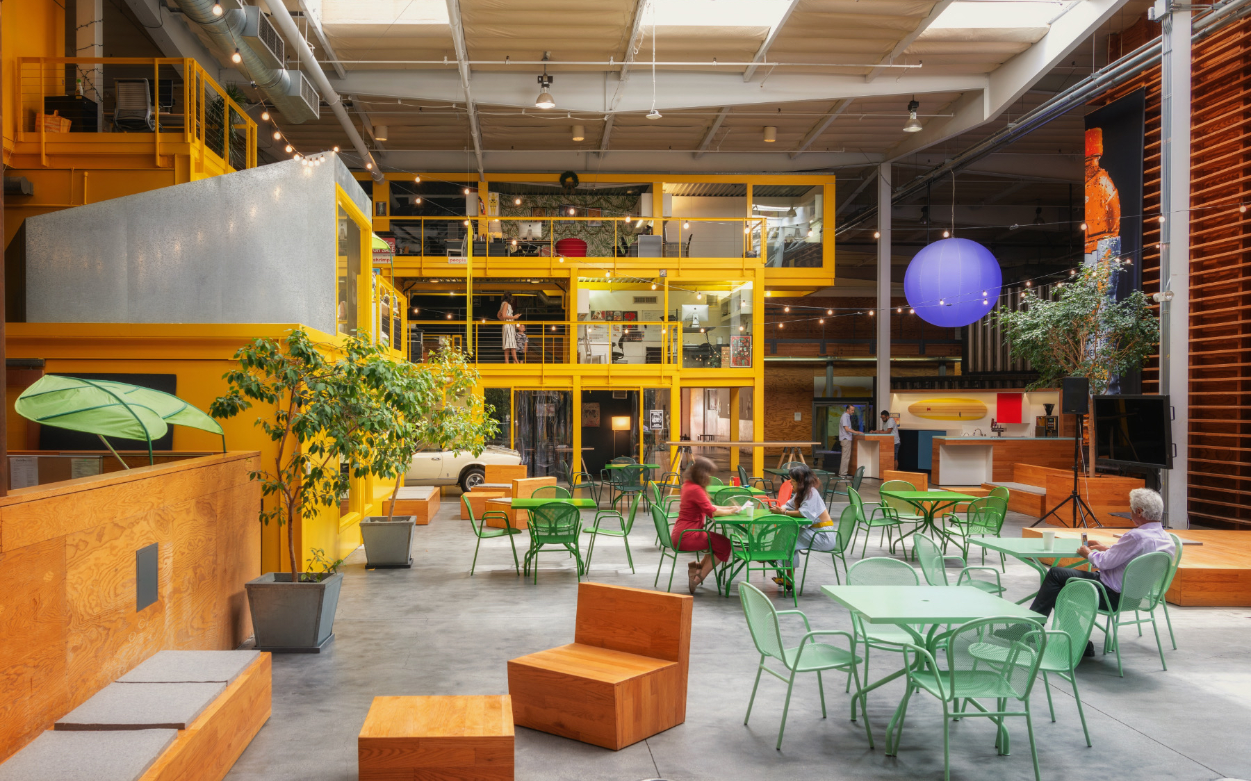 A Tour of TBWA\Chiat\Day's New Los Angeles Office