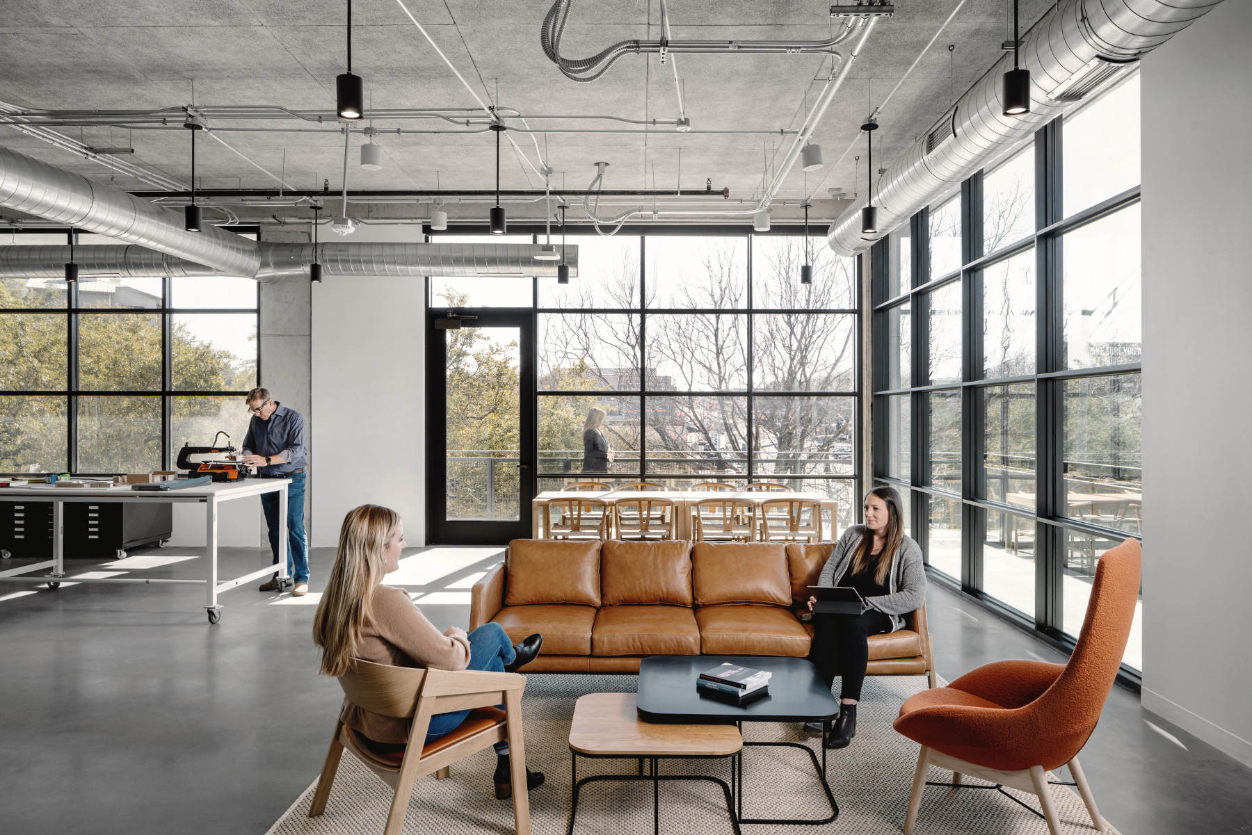 A Tour Of Frog Design's Sleek New Office In Austin