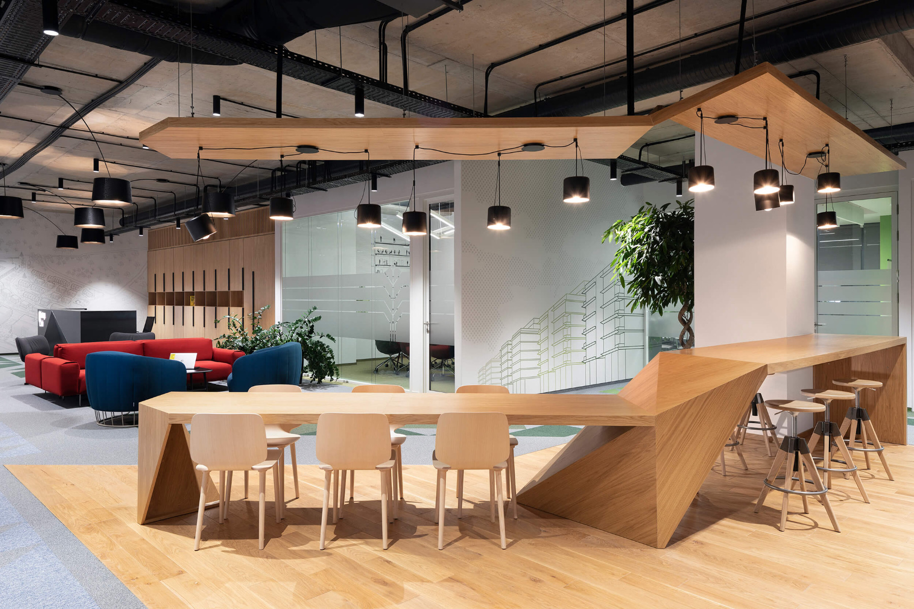Inside Garitage Investment and Management's Sofia Office