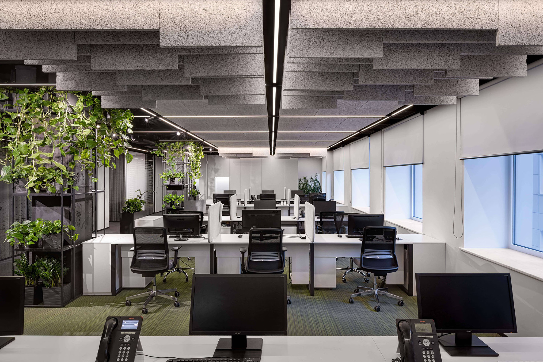 A Look Inside PrivatBank's New Kyiv Office