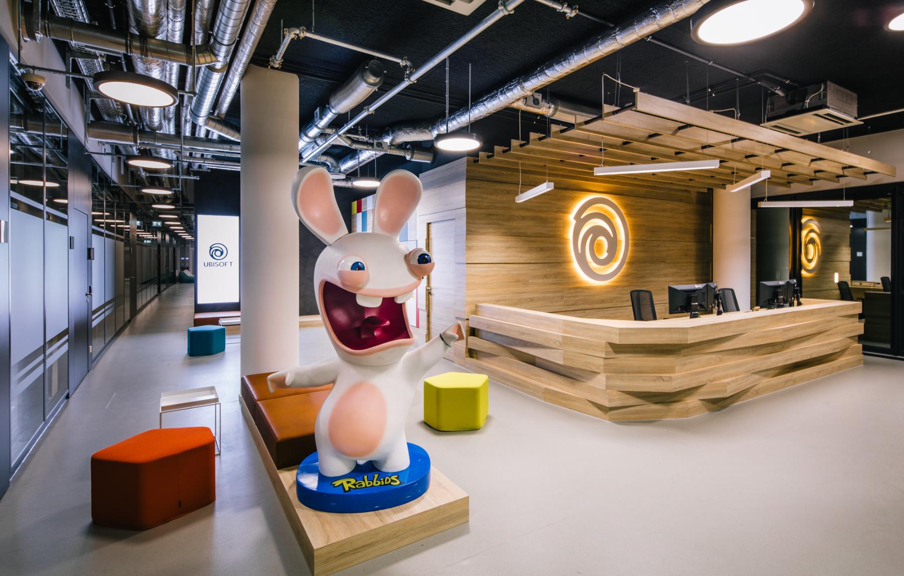 A Tour of Ubisoft's New Düsseldorf Office
