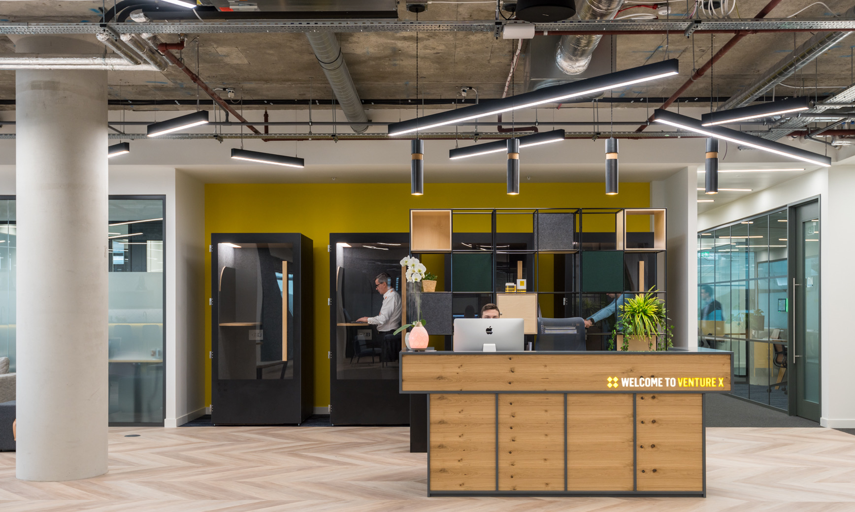 A Tour Of Venture X's New London Coworking Space
