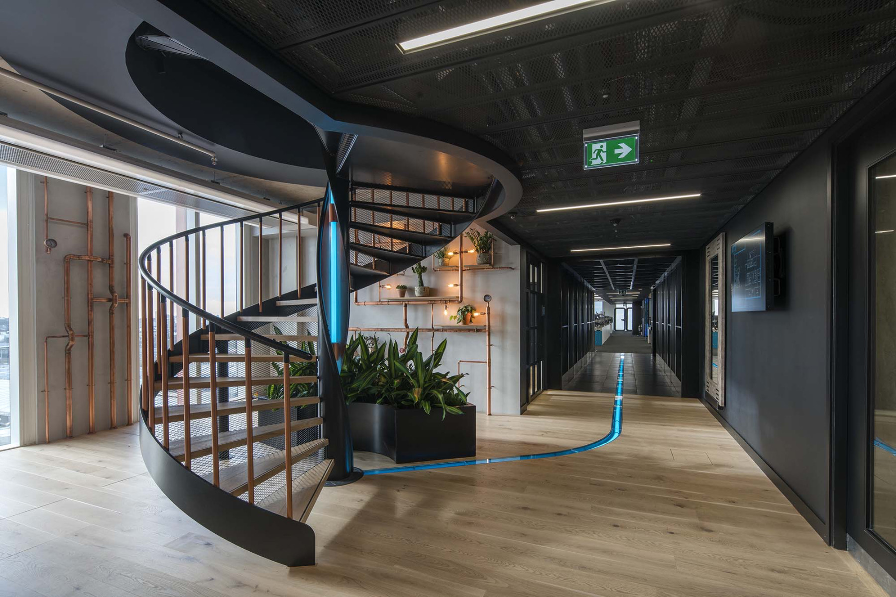 A Tour of XTX Markets' Modern London Office