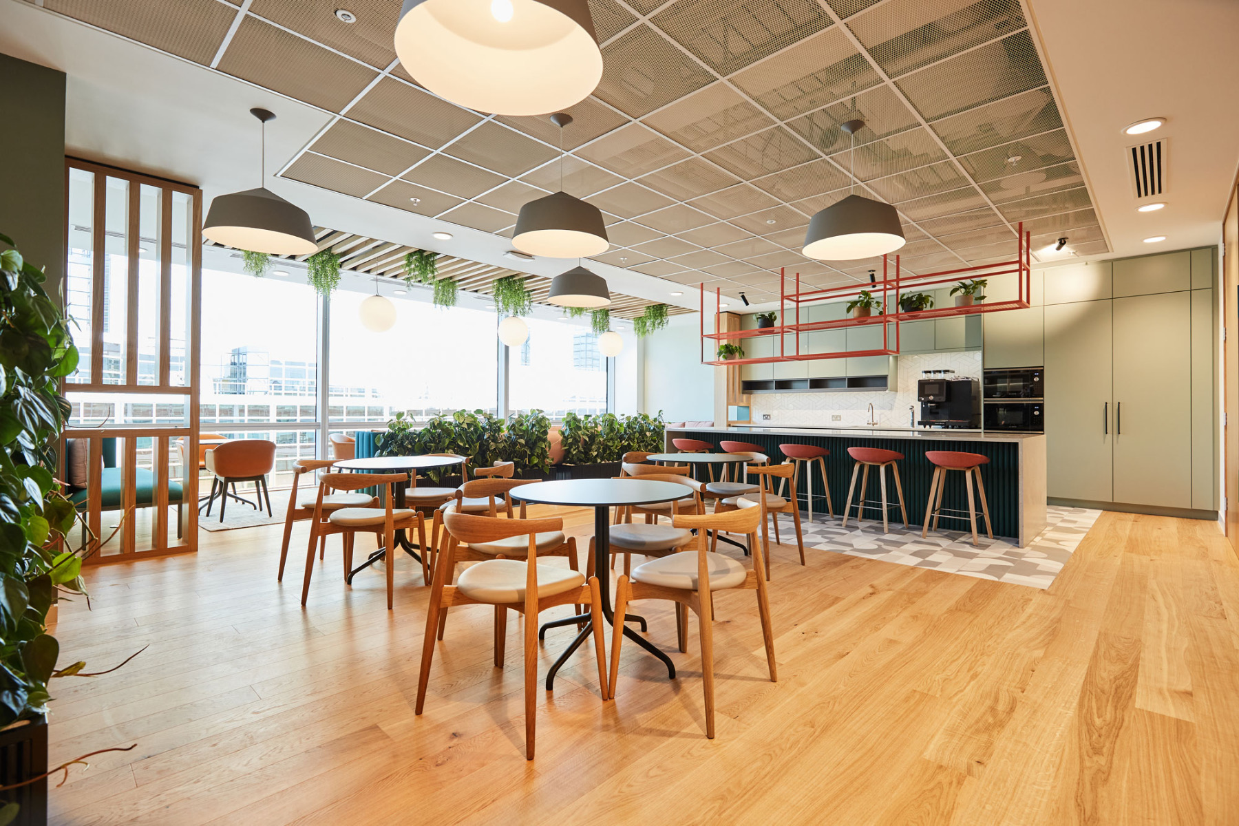 Inside London-Based Financial Services Firm's Offices