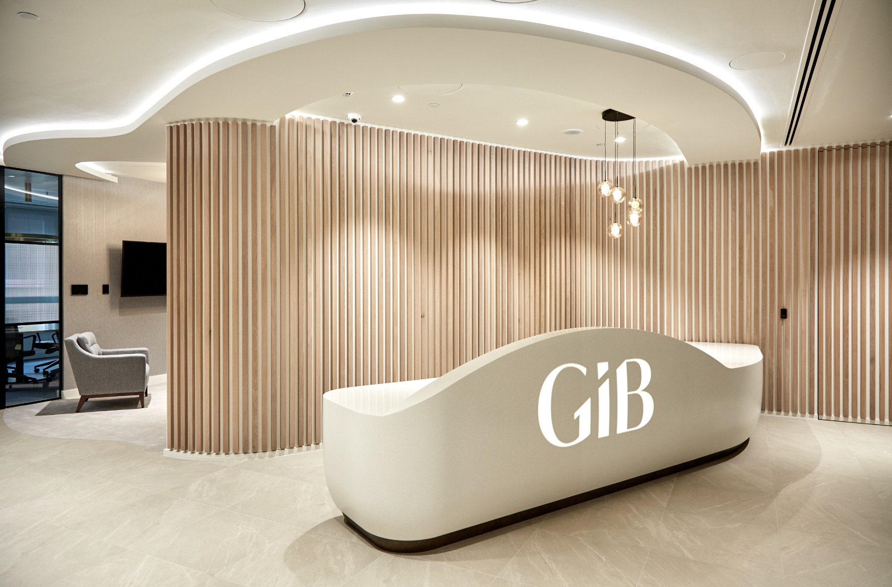 A Look Inside GIB Asset Management's New London Office