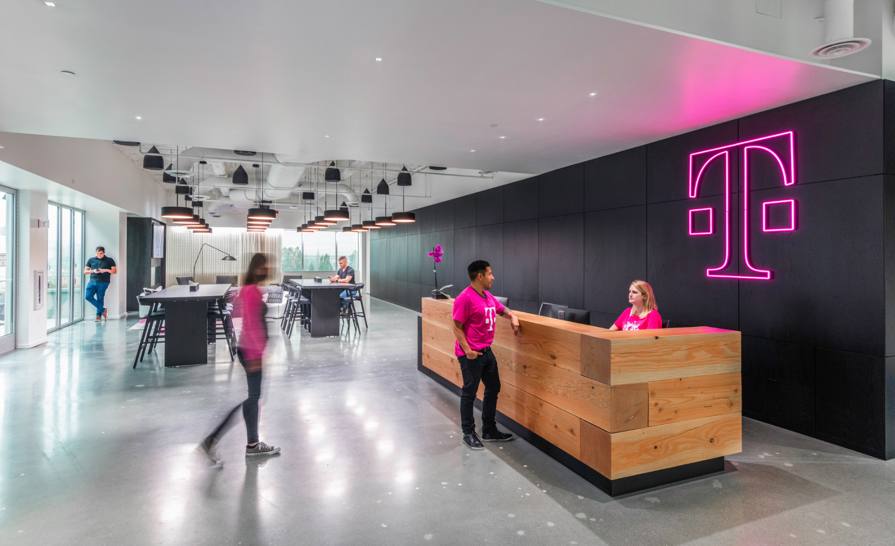 A Tour of T-Mobile's Sleek New Bellevue Office