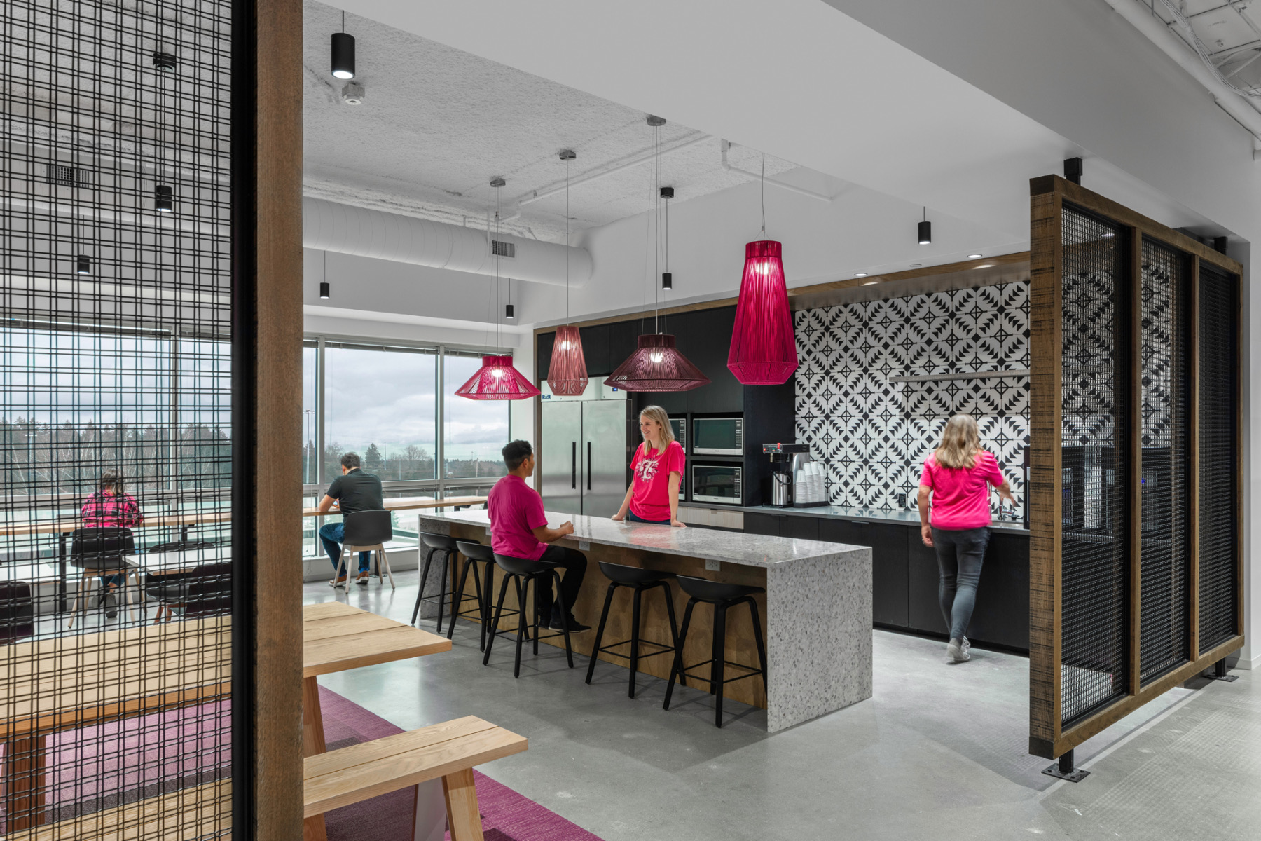 A Tour Of T-Mobile's Sleek New Seattle Office