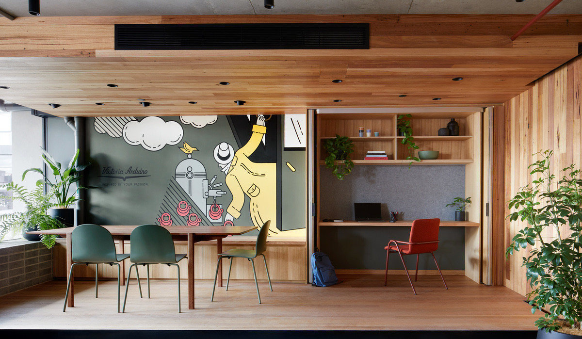 A Look Inside Victoria Arduino's Melbourne Office / Experience Lab